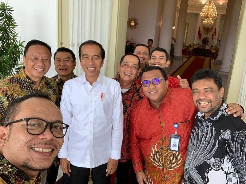 Setelah Ketum PAN Giliran Said Iqbal Bertemu Jokowi di Istana, Ini Respon BPN