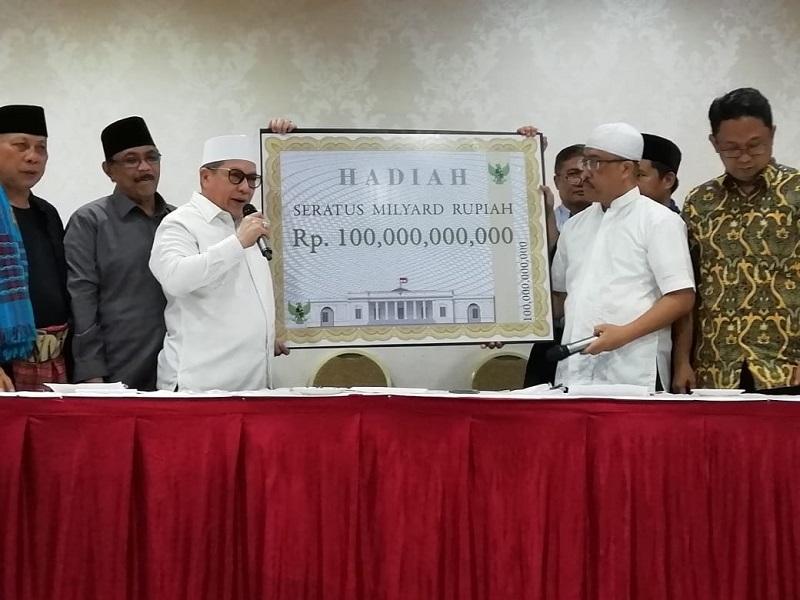 Tantang Kubu 02 Buktikan Kecurangan, Koalisi Relawan Jokowi Gelar Sayembara 100 Milyar