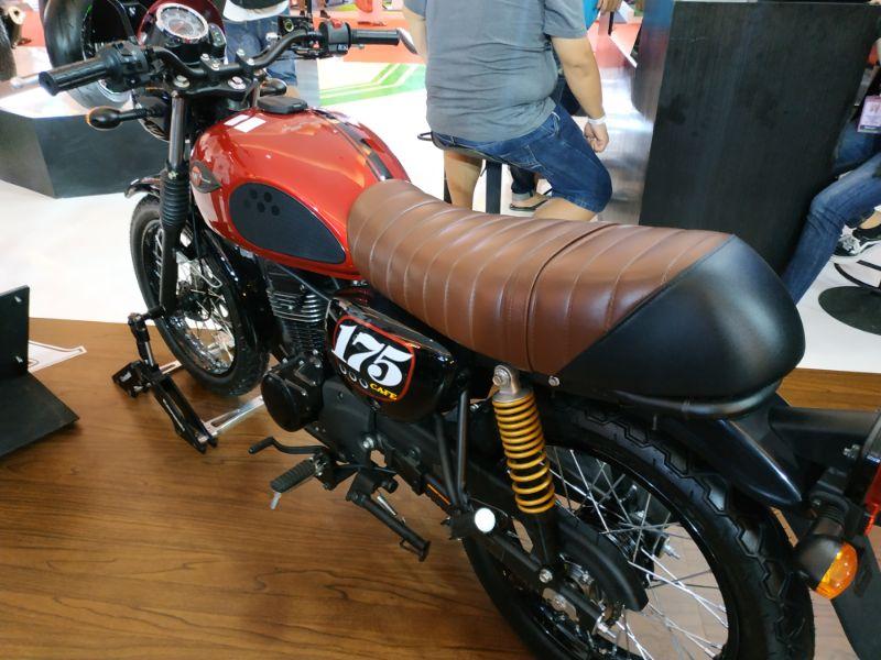New 175 Cafe Dongkrak Penjualan Kawasaki di IIMS 2019