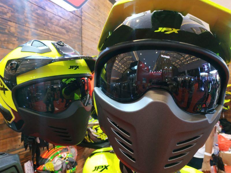 Luncurkan 3 Helm Produk Terbaru, JPX Hadirkan Nuansa Motocross Pada IIMS 2019
