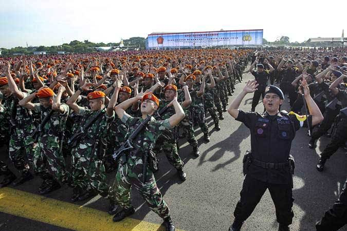 11.000 Personel Gabungan Siap Amankan Aksi Massa 9 Mei Besok