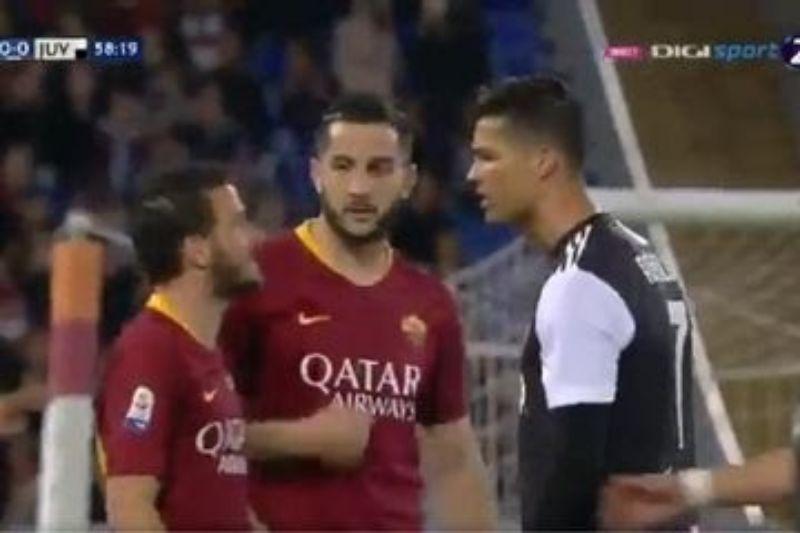 Kronologis Pertengkaran Cristiano Ronaldo dengan Kapten Roma