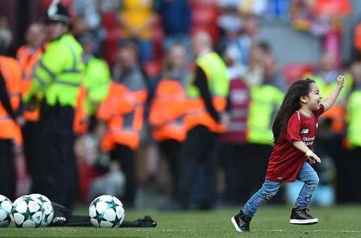 Cetak Gol, Putri Mohamed Salah Sukses Gemparkan Stadion Anfield