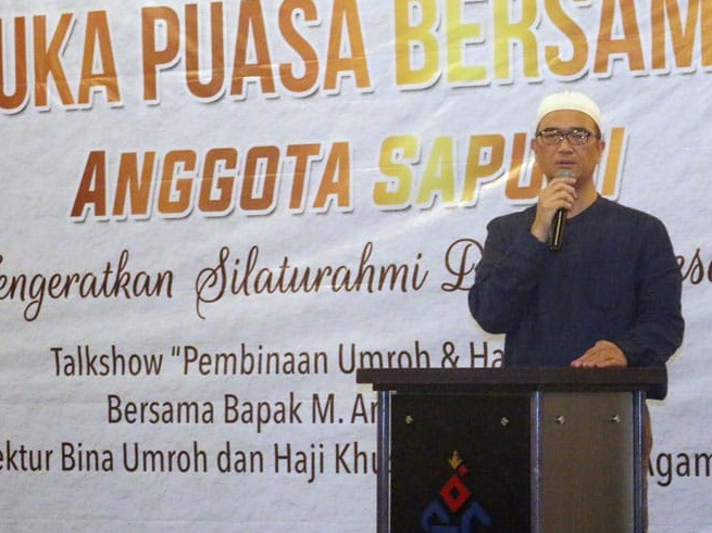 Syam Resfiadi Klaim SAPUHI Siap Bantu Penuhi Tambahan Kuota Haji 2019