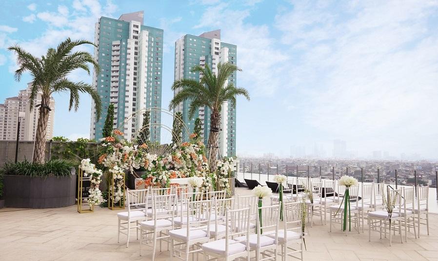 Gelar Pesta Nikah ala Milenial di Holiday Inn and Suites Gajah Mada Harga Bersahabat!