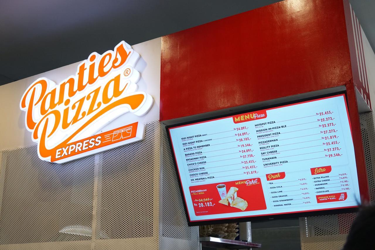 Panties Pizza Express Hadir Manjakan Konsumen Mulai Mei Ini!
