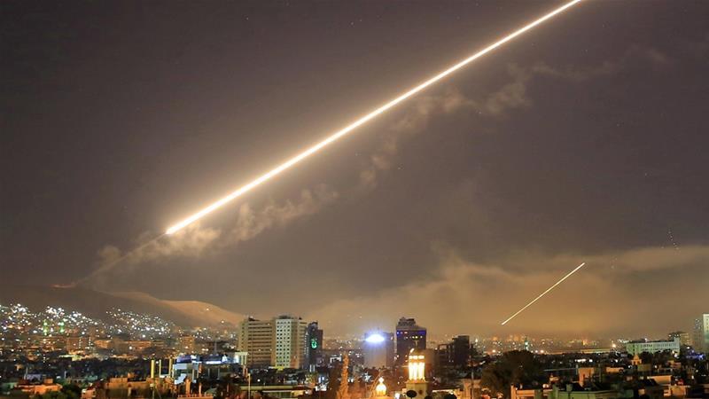 Suriah Klaim Cegat Rudal Israel di Damaskus, Ledakan Keras Menggema