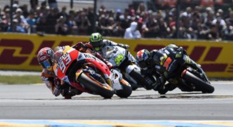 Meski Sempat Terjatuh, Marc Marquez Tetap Raih Pole Position di MotoGP Prancis