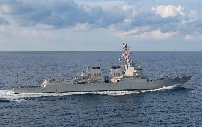 AS Kembali Picu Ketegangan Tiongkok di Laut Cina Selatan