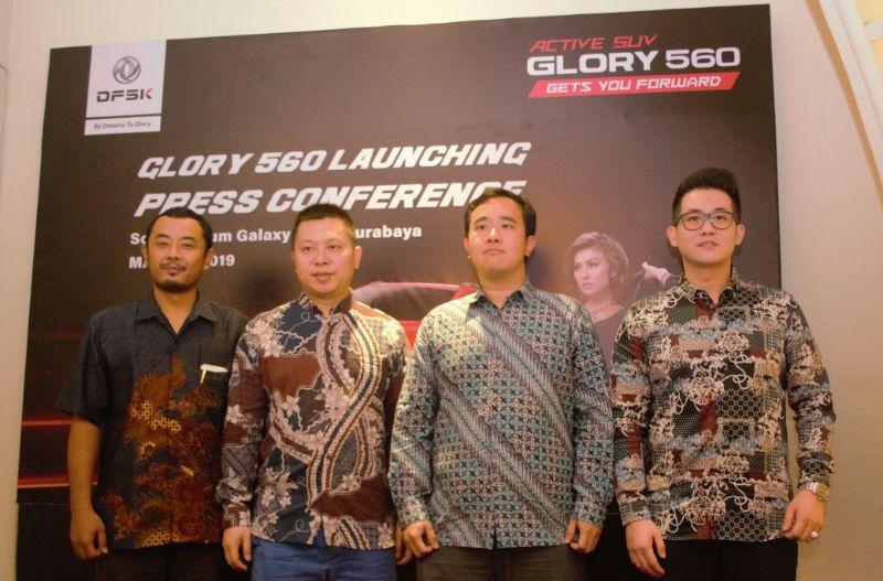 DFSK Rambah Surabaya, Glory 560 Mulai Diniagakan untuk Masyarakat Surabaya