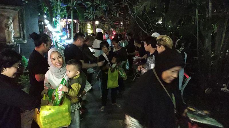 Melly's Garden Gelar Acara Bukber dan Beri Santunan Bagi 200-an Anak Yatim