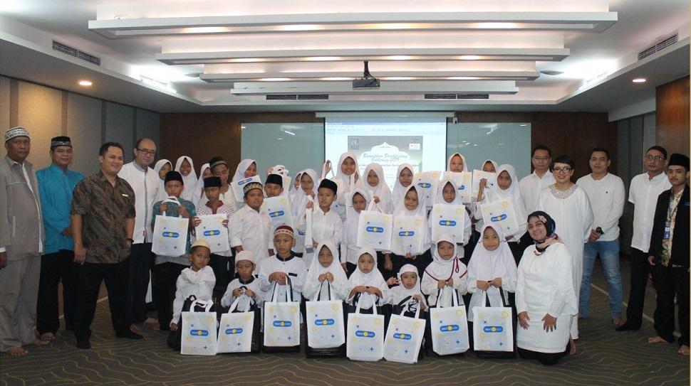 Berbagi Berkah Ramadhan, El Hotel Jakarta Gelar Donor Darah dan Santunan Anak Yatim
