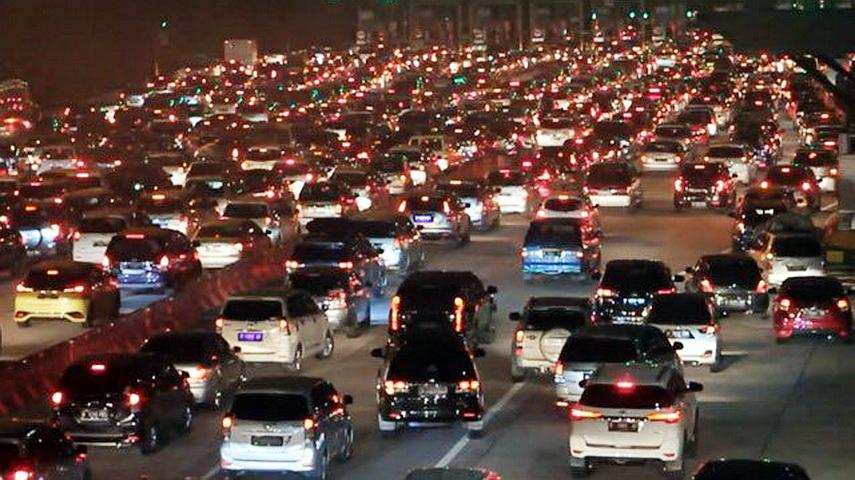 104 Ribu Kendaraan Diprediksi Padati Tol Cipali Saat Puncak Arus Mudik