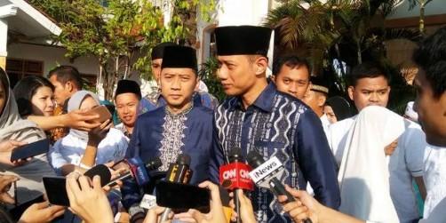 Dua Putra dan Menantu SBY Lebaran Bersama Jokowi di Istana
