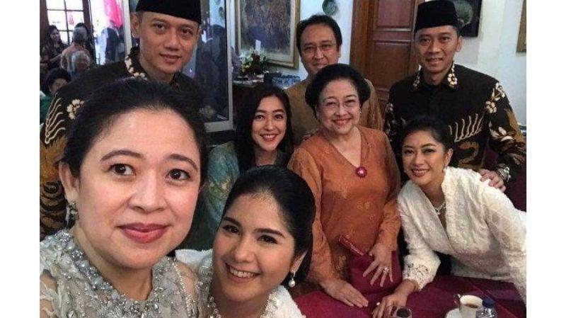 Kunjungi Kediaman Megawati, Kedua Putra SBY Turut Berswafoto