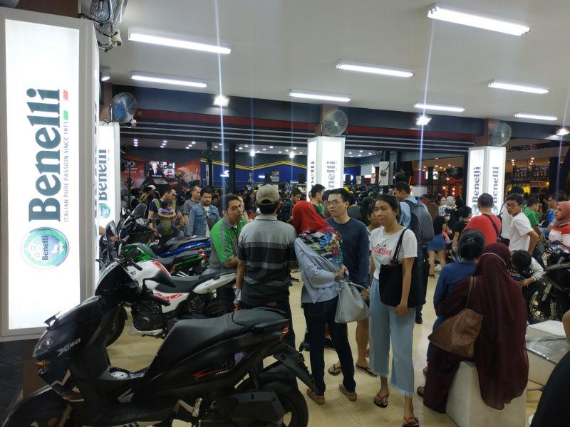 Hadir di Jakarta Fair 2019, Benelli Kenalkan TNT 249S