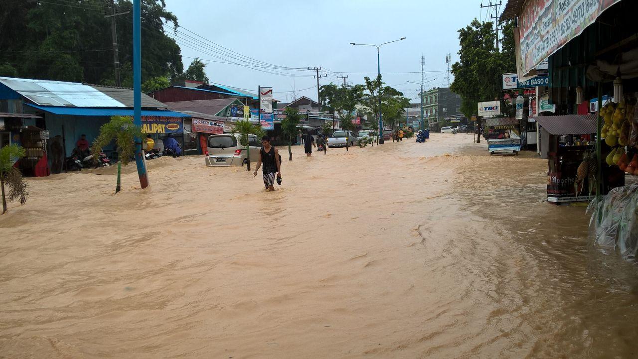 Banjir di Samarinda Putus Akses ke Bandara APT Pranoto