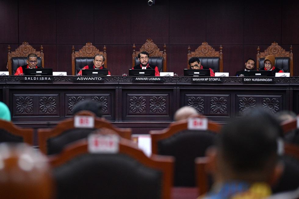 Jelang Sidang Perdana Gugatan Pilpres, 9 Hakim MK Dapat Pengawalan Khusus