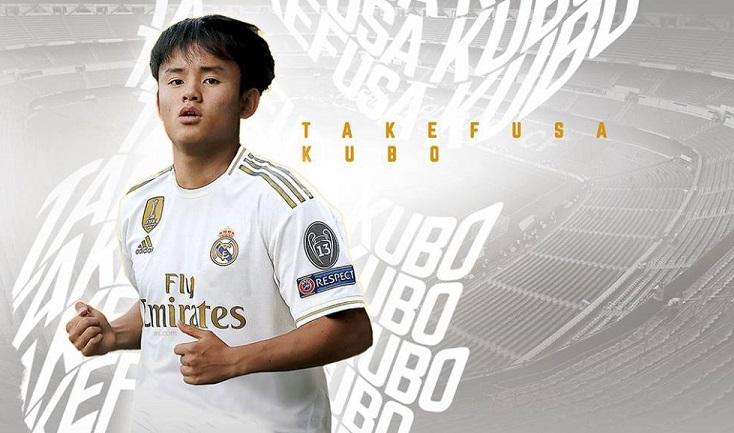 Real Madrid Resmi Boyong Messi From Japan Takefusa Kubo