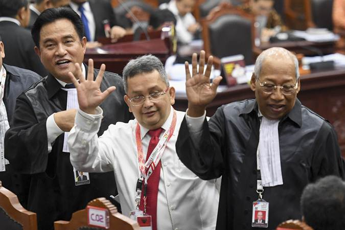 Sidang MK, KPU dan Tim Jokowi Tolak Perbaikan Permohonan Tim Prabowo