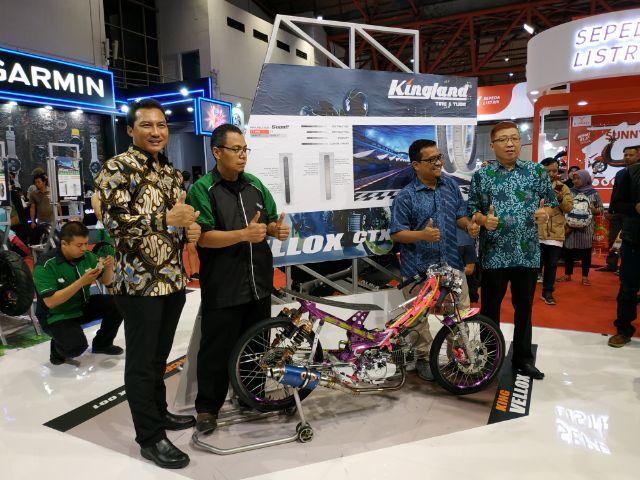 Lirik Segmen Balap Motor, Kingland Hadirkan Ban AXCERO CTX 001 dan King VELOX CTX