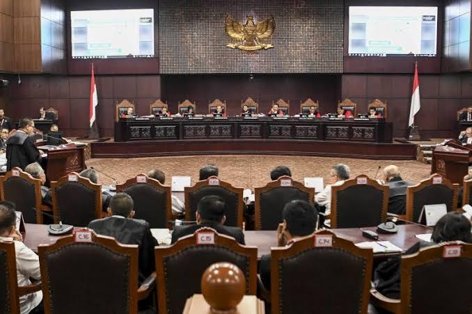 MK Putuskan Hasil Sidang Sengketa Pilpres 27 Juni