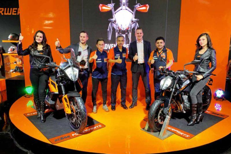 KTM Luncurkan Dua Big Bike, 790 Duke dan 790 Adventure di Jakarta Fair Kemayoran