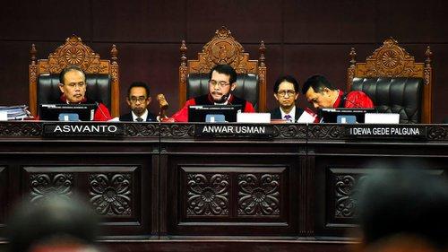 Berikut Sejumlah Dalil Gugatan Kubu Prabowo yang Dipatahkan Majelis Hakim MK