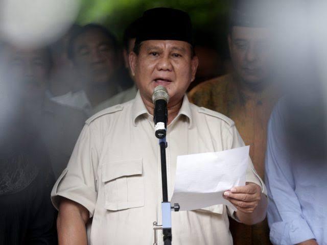 Hasil Jumpa Pers Prabowo Usai Pembacaan Putusan MK