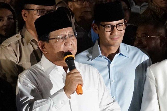 BPN : Punya agenda lain, Prabowo-Sandi tidak akan hadiri penetapan capres terpilih oleh KPU