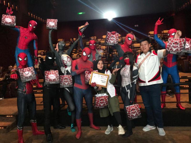 Kolaborasi TYCI dan Spider Verse Indonesia Hadirkan Keseruan Weekend