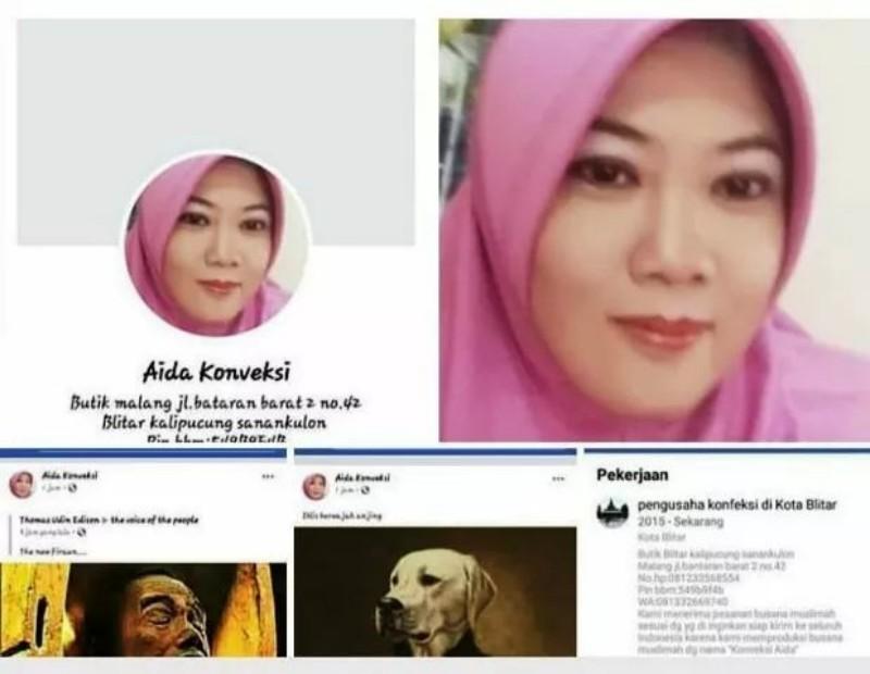 Posting Jokowi Mumi, Pemilik Akun Aida Konveksi Resmi Jadi Tersangka