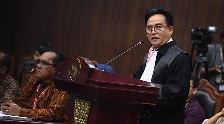 Rontok di MK Prabowo-Sandi Ajukan Kasasi Pilpres ke MA, Berikut Tanggapan Yusril