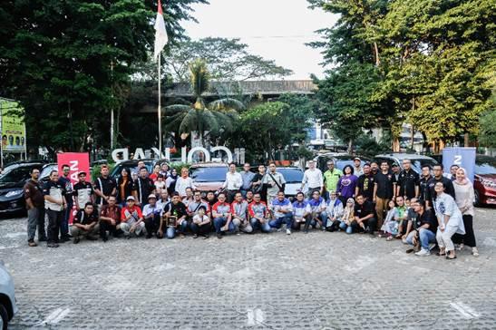 Seru-seruan Kongkow Bareng Komunitas Nissan dan Datsun di Jakarta