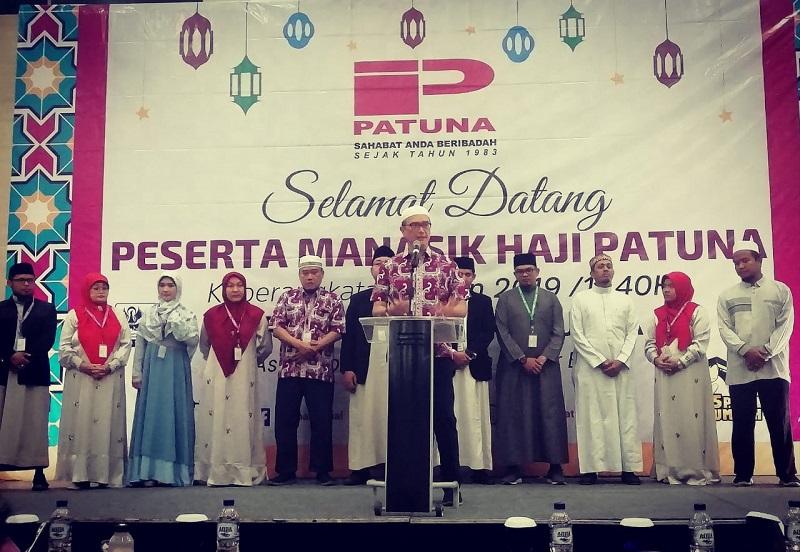 Manasik Patuna Travel, Syam Resfiadi: Proses Visa Haji Tahun ini Paling Lambat