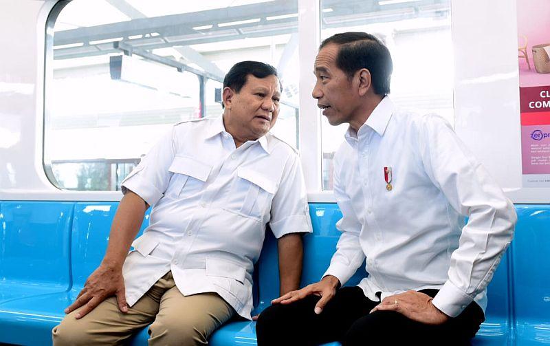 Salut! Bersurat ke Amien Rais Prabowo Ungkap Alasan Bertemu Jokowi