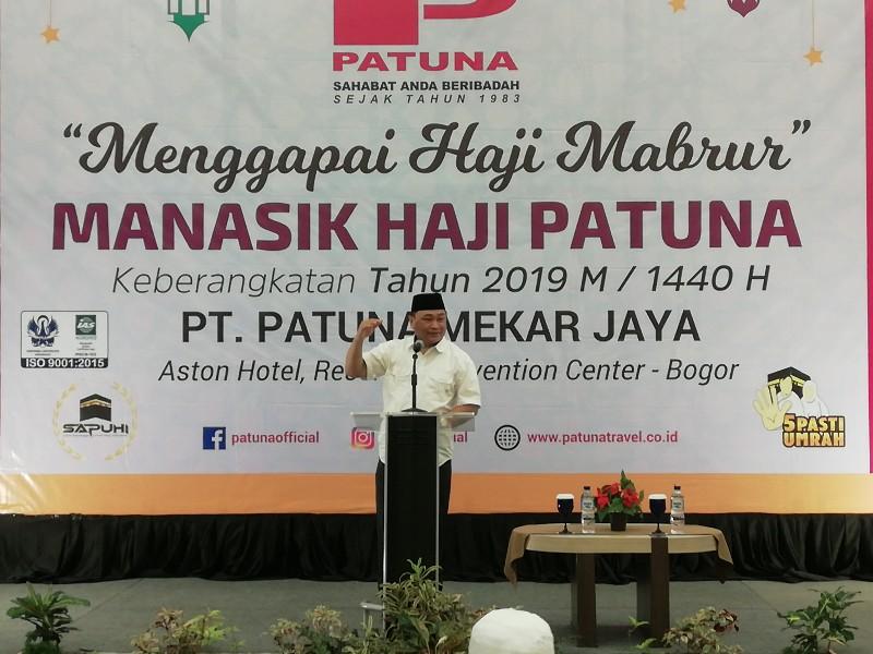 Pertama Kali Adakan Program Haji Mujamalah, Patuna Berangkatkan 43 Jemaah