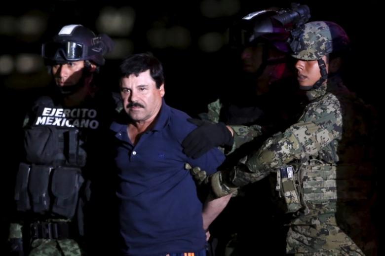 El Chapo, Gembong Narkotika Mexico Dipindah ke Penjara Supermax