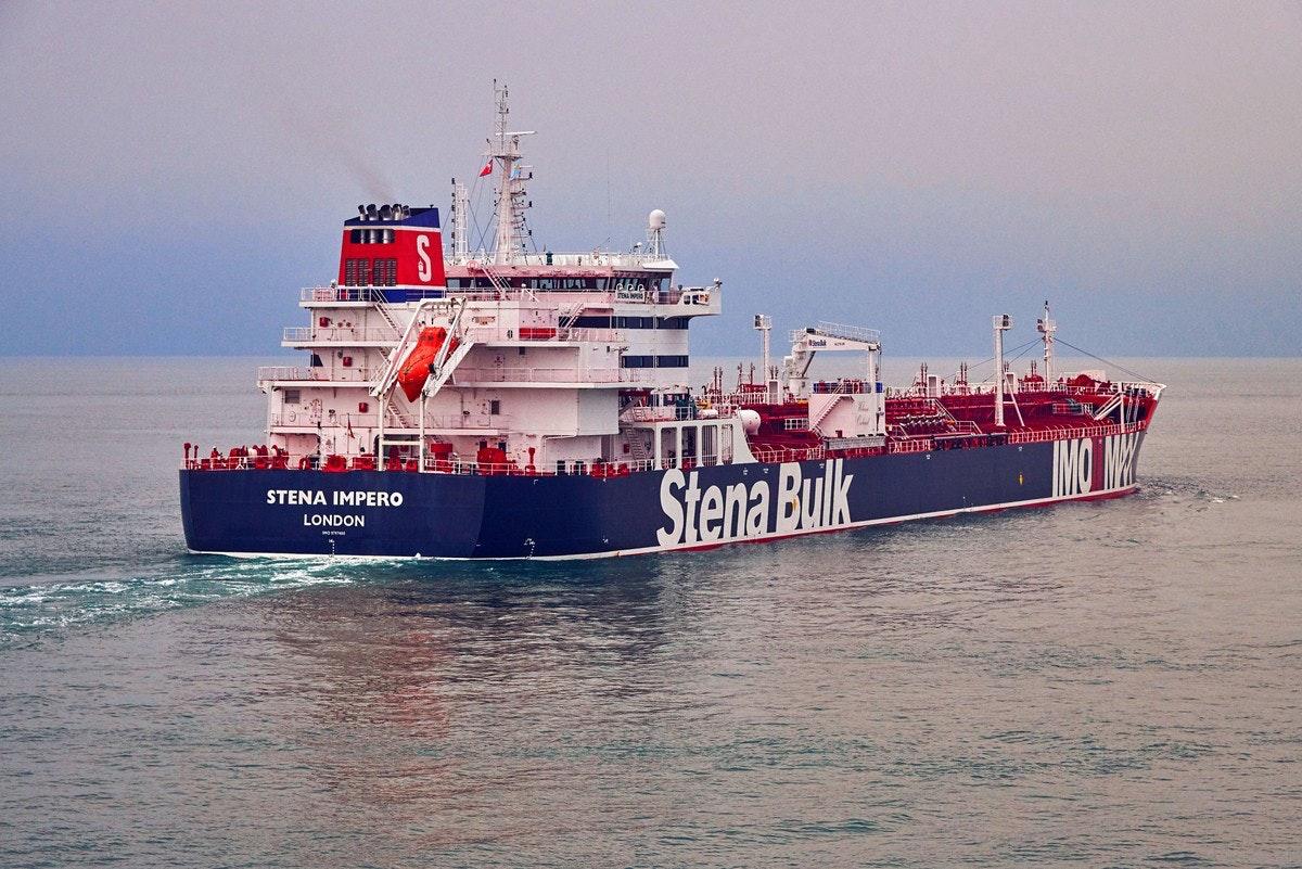 Garda Revolusi Iran Tangkap Kapal Tanker Inggris Berikut 23 Pelaut