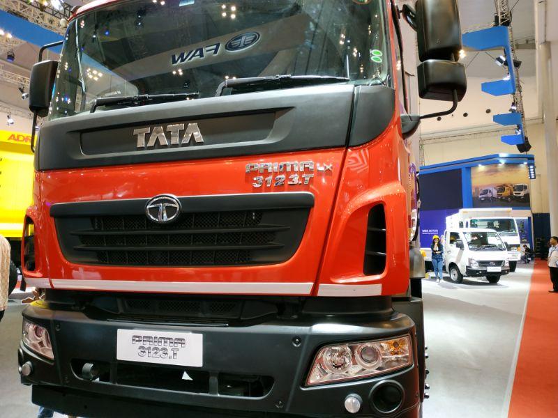 TMDI Luncurkan Jagoan Logistik Terbarunya, Tata Prima 3123.T 8X2