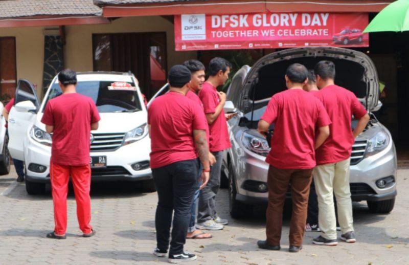 DFSK Customer Gathering Perdana, Ajak Konsumen Melihat Fasilitas dan Pelayanan di Dealer Resmi DFSK