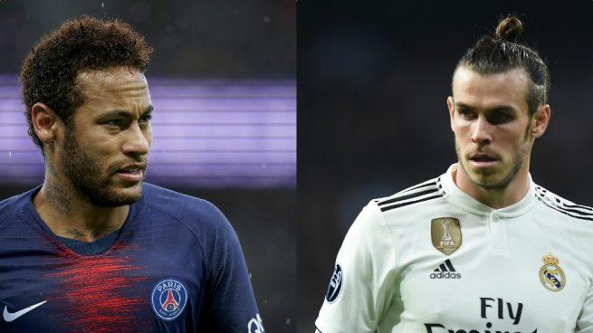 Gareth Bale Jadi Tiket Madrid Boyong Neymar