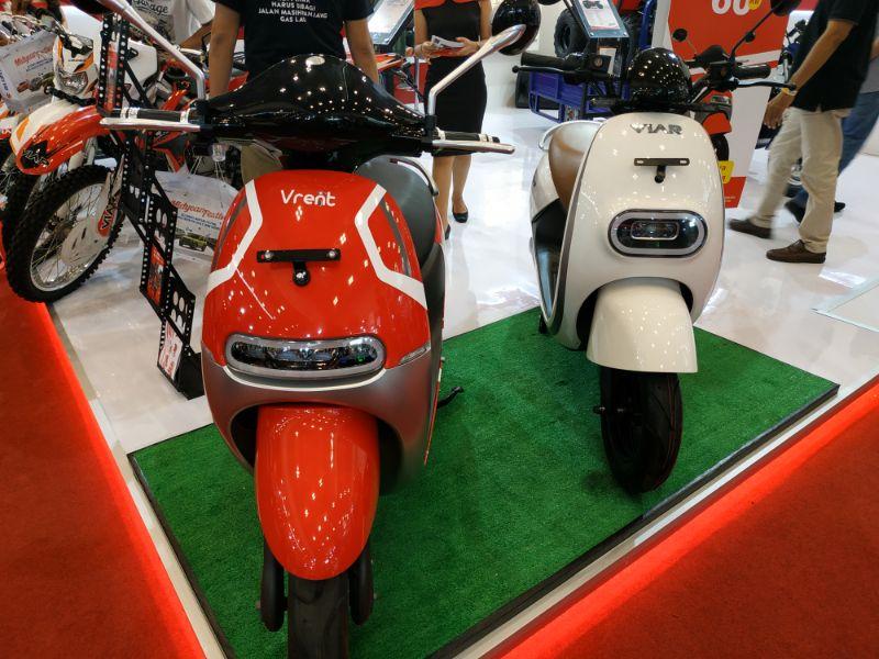 New Viar Q1, Motor Ramah Lingkungan dan Trendy