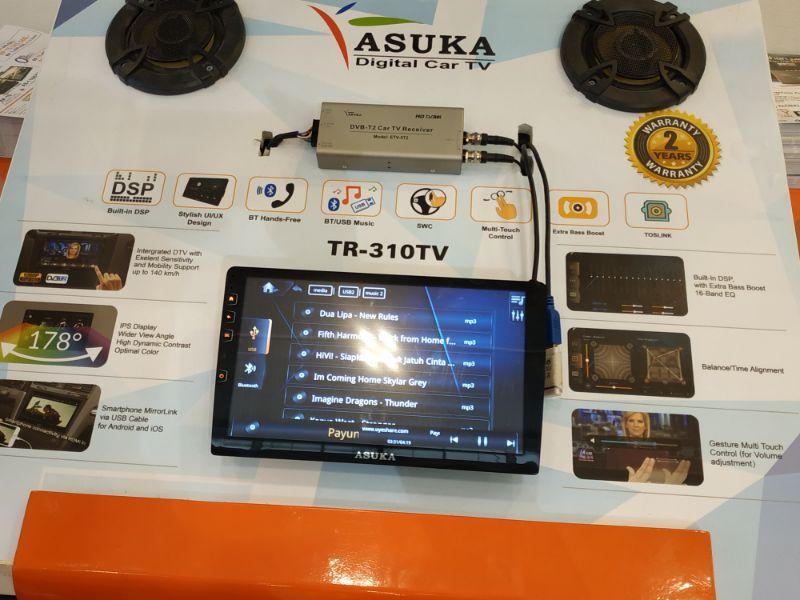 Prioritaskan Hiburan dan Keamanan, Asuka Car TV Luncurkan TR-310 Bersama TPMS TPS-100