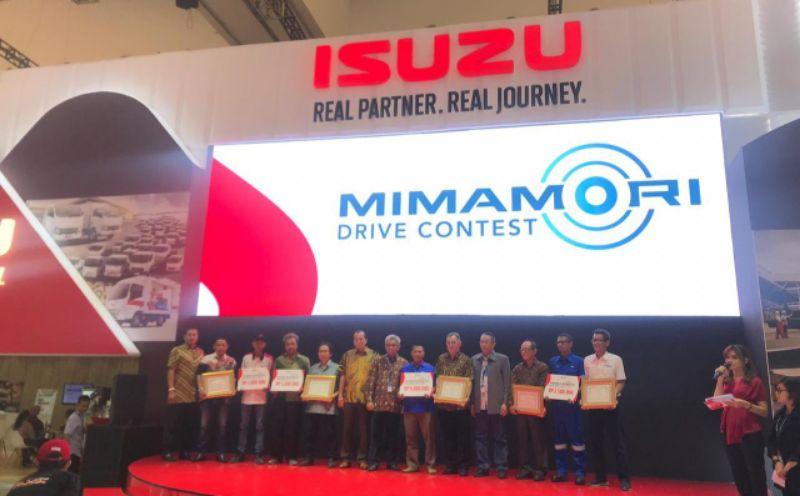 Isuzu Pilih Sopir Terbaik 2019 Lewat Mimamori Drive Contest