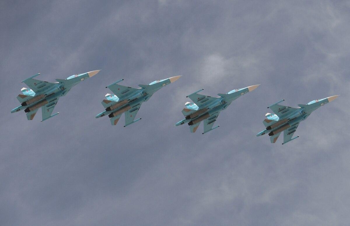 Serangan Jet Rusia ke Suriah Tewaskan 50 Orang