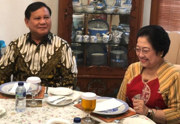Bertemu Megawati, Prabowo: Komitmen terhadap NKRI harga mati