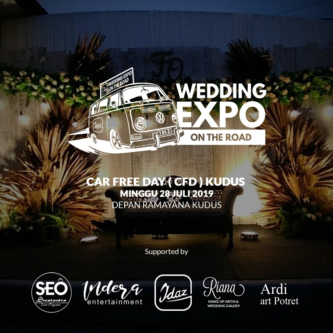 Unik, Wedding Expo Kudus Digelar di Area CFD!