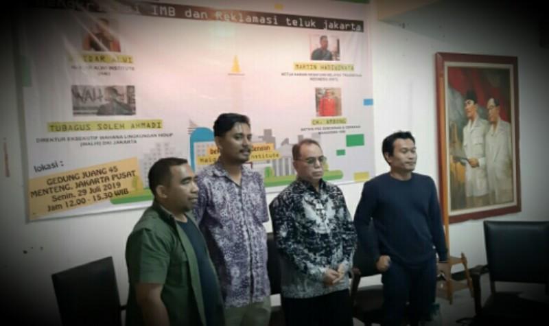 Forum Masyarakat Kota Jakarta Gelar Diskusi Publik Tentang Pembangunan Pulau Reklamasi
