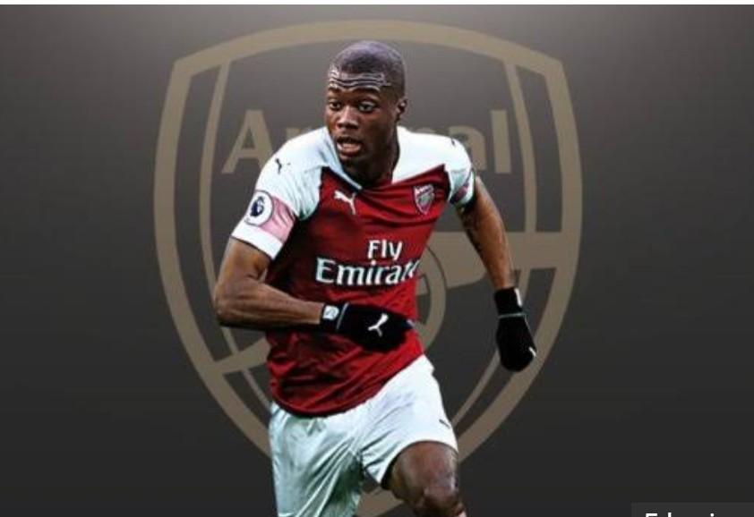 Gabung ke Arsenal, Nicolas Pepe Pecahkan Rekor Transfer Klub